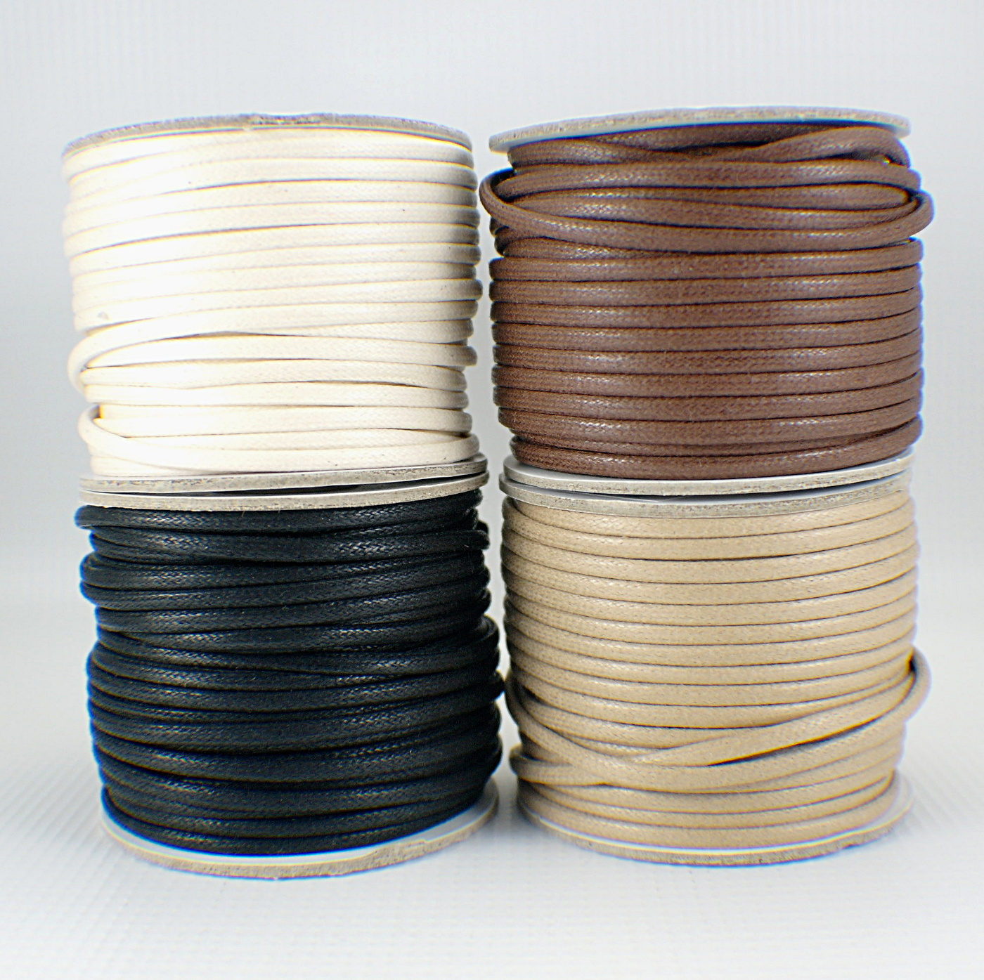 3mm waxed cotton cord